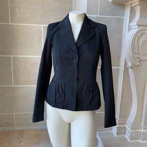 Escada Silk Blend Blazer